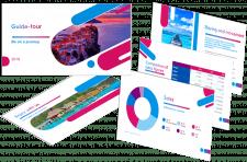 Отчетная презентация для туристического агенства
