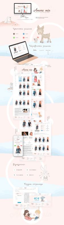 Amore mio — украинский бренд детской одежды