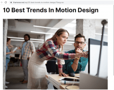10 Best Trends In Motion Design