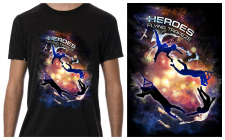 t-shirt - Heroes