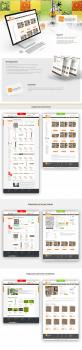 Редизайн 3-х страниц интернет-магазина плитки