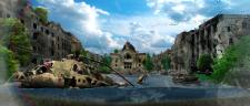 Постапокалиптический пейзаж города