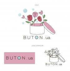 лого для доставки квітів