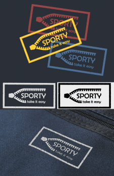SPORTY Logo for sports equipment brand