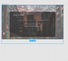 Верстка и дизайн для сайта с фильмами