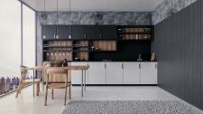 3D визуализация. Кухня