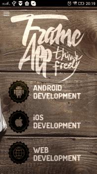 Корпоративное приложение для студии FrameApp