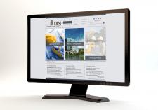 Дизайн сайта для строительной компании DIM
