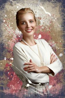 Стилизация портрета