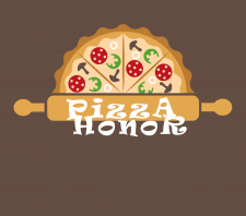 логотип Pizza Honor