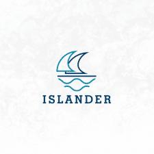 логотип для ISLANDER