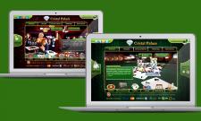 Дизайн лендинга для сайта-казино
