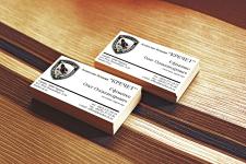 Дизайн визитки охранного агенства