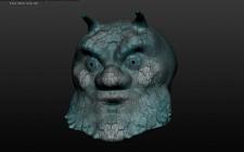 Голова в 3D