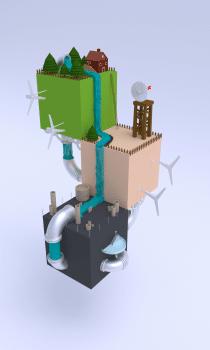 Low-poly моделирование