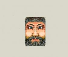 Эскиз обложки для книги
