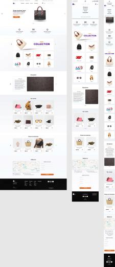 Адаптивный дизайн интернет-магазина