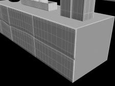 3д модель комода