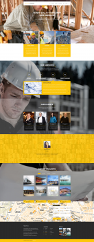 Suggest Construction Website Template