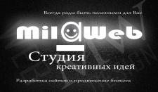 Дизайн визитки MilaWeb