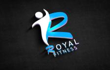 """Лого """"Royal Fitness"""" в обработке"""
