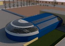 Модель крытого бассейна