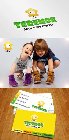 Редизайн логотип для магазина детской обуви, шапок