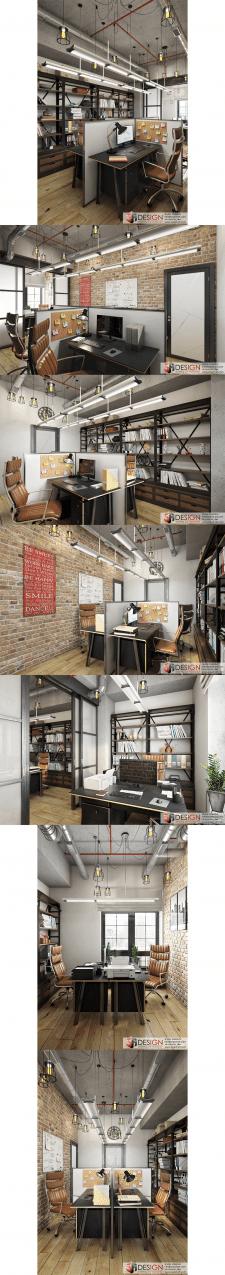 Дизайн офиса в стиле Loft