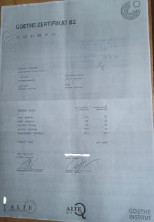 Сертифікат В2