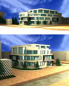 Визуализация офиса 3dmax