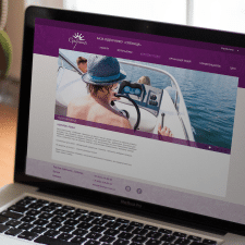 Розробка дизайну сайту для бази відпочинку