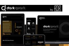 Создание айдентики и сайта для фирмы DarkQuark