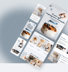Adaptive design (Landing page)