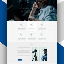 Дизайн сайта детективного агенства