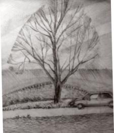 рисунок карандаш