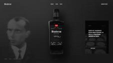 """Этикетка & промо-страница для виски """"BANDEROS"""""""