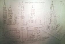 Эскизный проект церкви