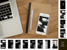 Дизайн мобильного приложения (магазина)