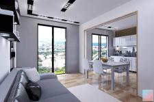 """Проект квартиры в стиле """"минимализм"""" для молодой п"""