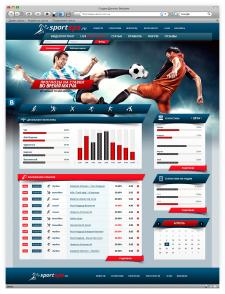 Дизайн сайта «Sportsps»