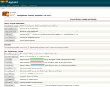 WHM - Установка и настройка CSF Firewall