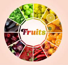 Плакат для фруктового магазина