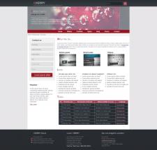 Верстка главной страницы сайта из PSD (HTML/CSS)