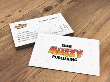 Дизайн визитки для издательской компании