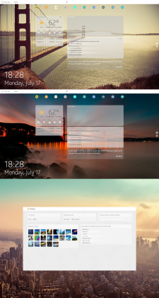Productive homepage