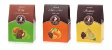 Упаковка для фруктов в шоколаде