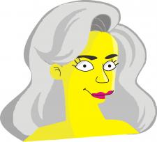 Портрет в стилі Сімпсонів