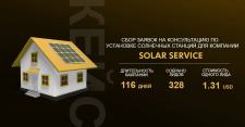 Сбор заявок для компании SolarService
