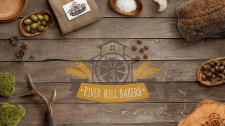 Логотип River mill bakery
