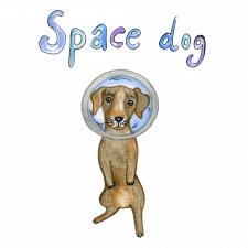 космическая собака